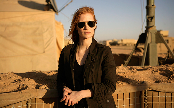 Jessica Chastain as Maya, Zero Dark Thirty