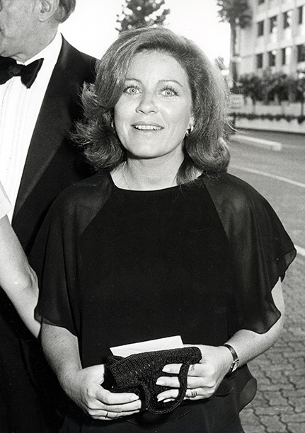 Patty Duke at the Cameramen and Technical Awards in 1983