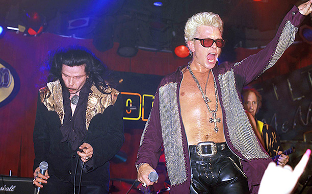Ian Astbury and Billy Idol