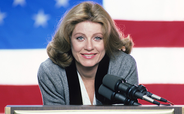 Patty Duke in Hail to the Chief on February 11, 1985