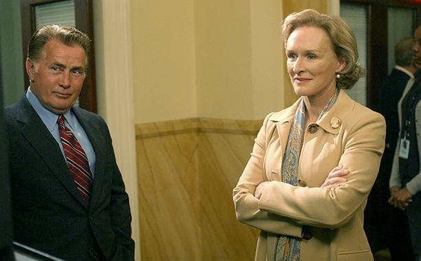 Glenn Close (Chief Justice Evelyn Baker Lang)