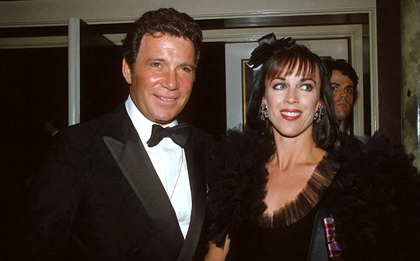With Marcy Lafferty Shatner, March 8, 1982