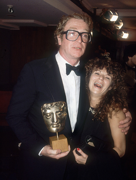 With Julie Walters in 1984