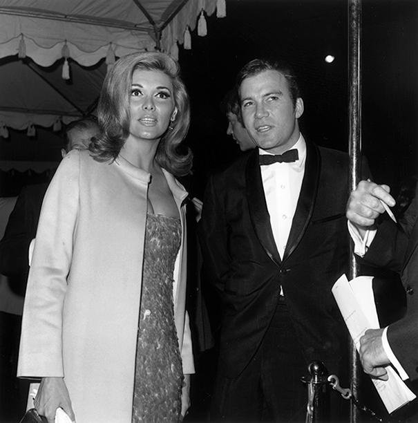 With Nancy Kovack, 1965