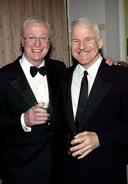 With Steve Martin on April 26, 2004