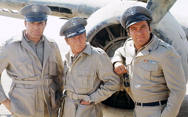 With Vince Edwards and Richard Basehart, January 9, 1970