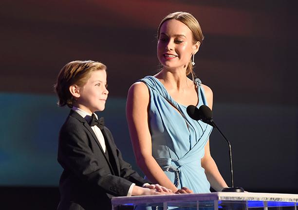 Presenting an Award (Adorably) at the SAG Awards