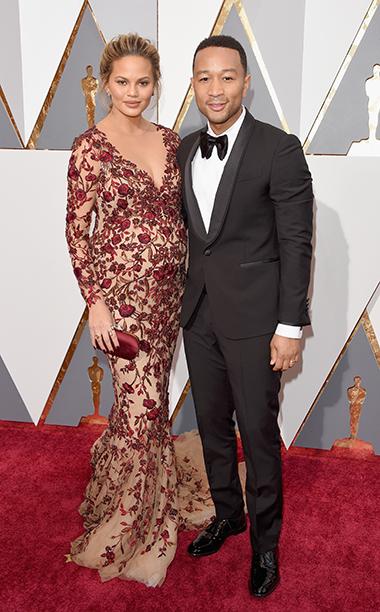 Chrissy Teigen and musician John Legend