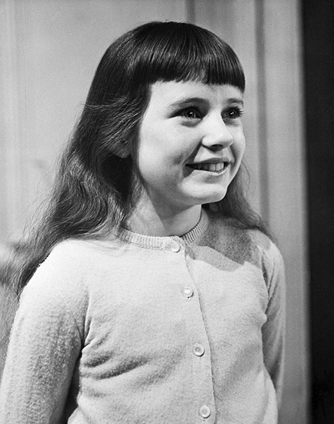Patty Duke as a Child Star on March 23, 1959