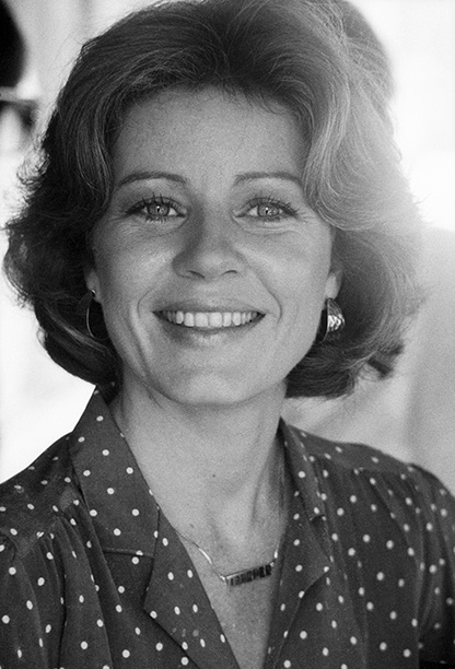 Patty Duke in New York City in the Late 1970s