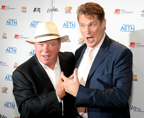 With David Hasselhoff, May 5, 2010