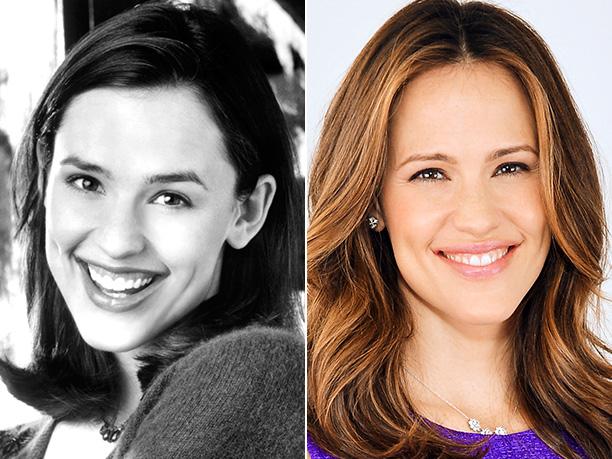 Jennifer Garner | Age in first photo: 25 Age in second photo: 40 Verdict: Yeah, the Neutrogena's working.