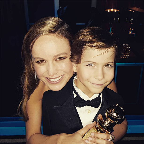 Being the Best Cheerleader Ever for Brie Larson