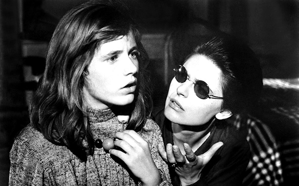 Patty Duke and Anne Bancroft in The Miracle Worker in 1962