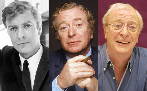 Michael Caine Through the Years