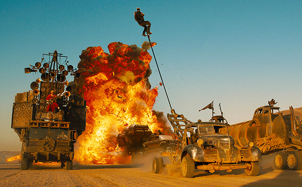 1. MAD MAX: FURY ROAD THE FINALE