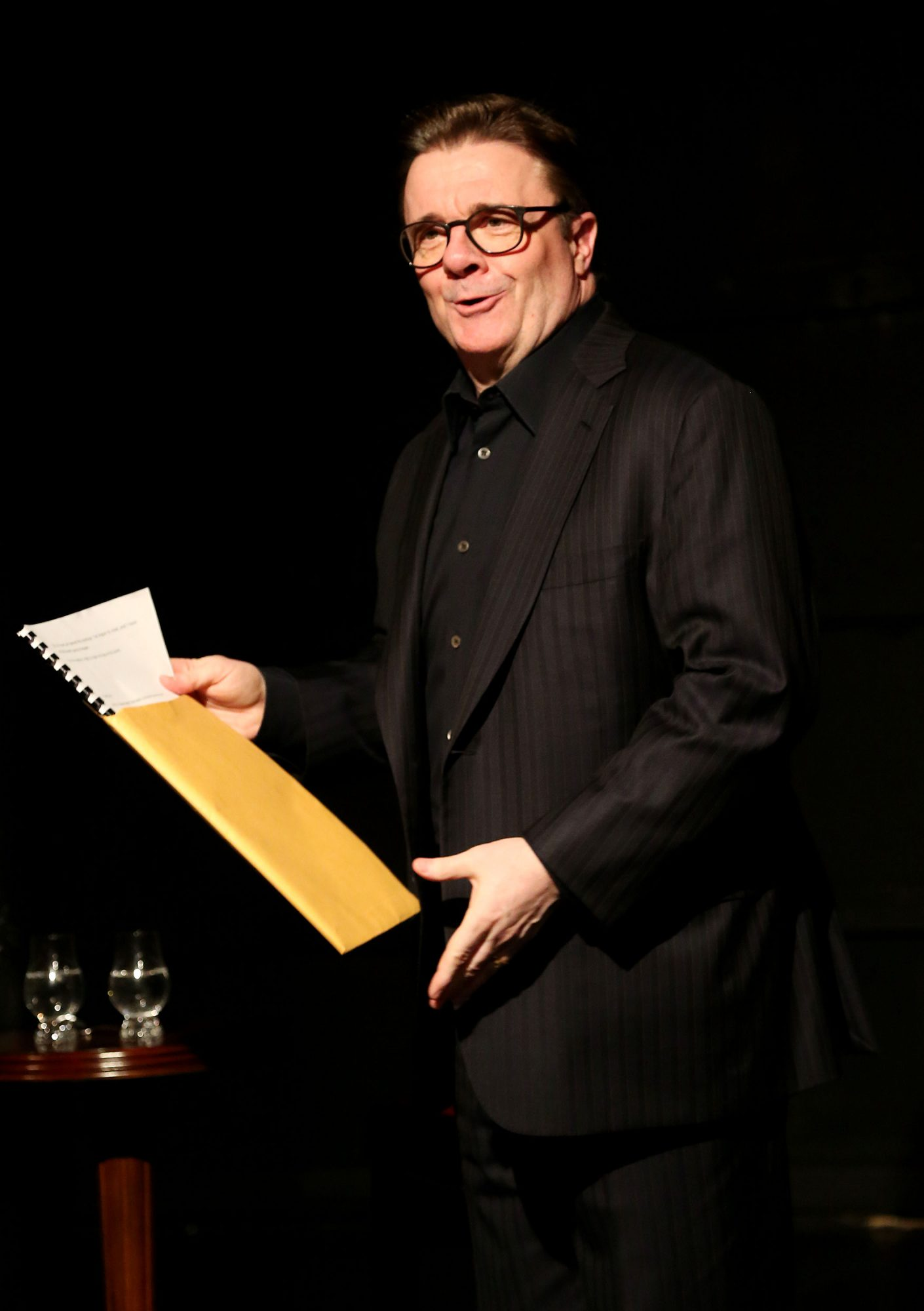 "March 7, 2016: Nathan Lane launches ""Red Rabbit White Rabbit"" at The West Side Arts Theatre in New York City Mandatory Photo Credit: Bruce Glikas/VivacityPR"