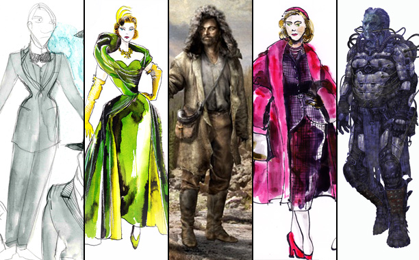Costume Designers Share Their Sketches