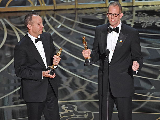 1. Best Animated Feature Film: Inside Out – Pete Docter and Jonas Rivera