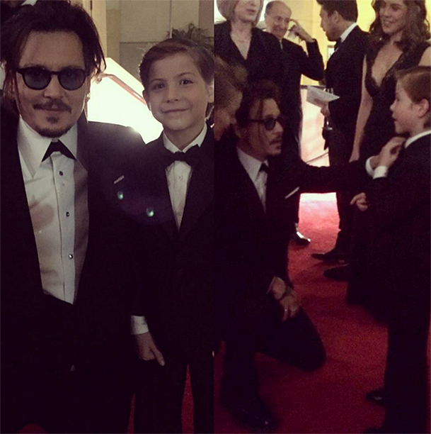 Becoming 'Best Buddies' With Johnny Depp