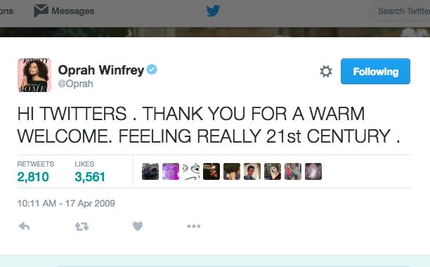Oprah Winfrey: April 17, 2009