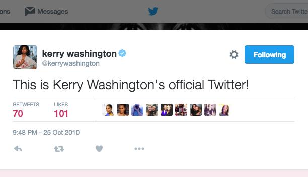 Kerry Washington: October 25, 2010