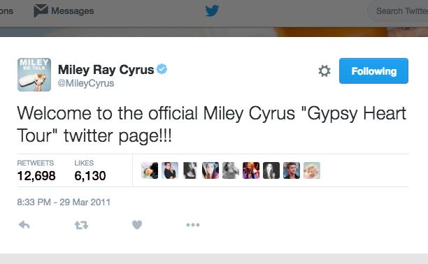 Miley Cyrus: March 29, 2011