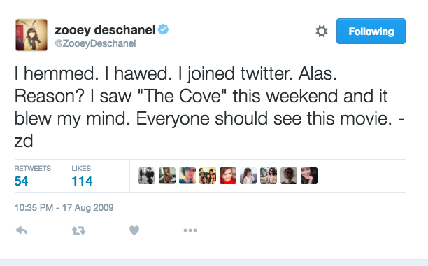 Zooey Deschanel: August 17, 2009