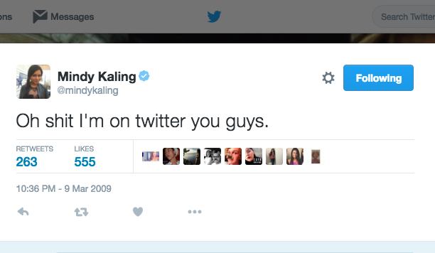 Mindy Kaling: March 9, 2009