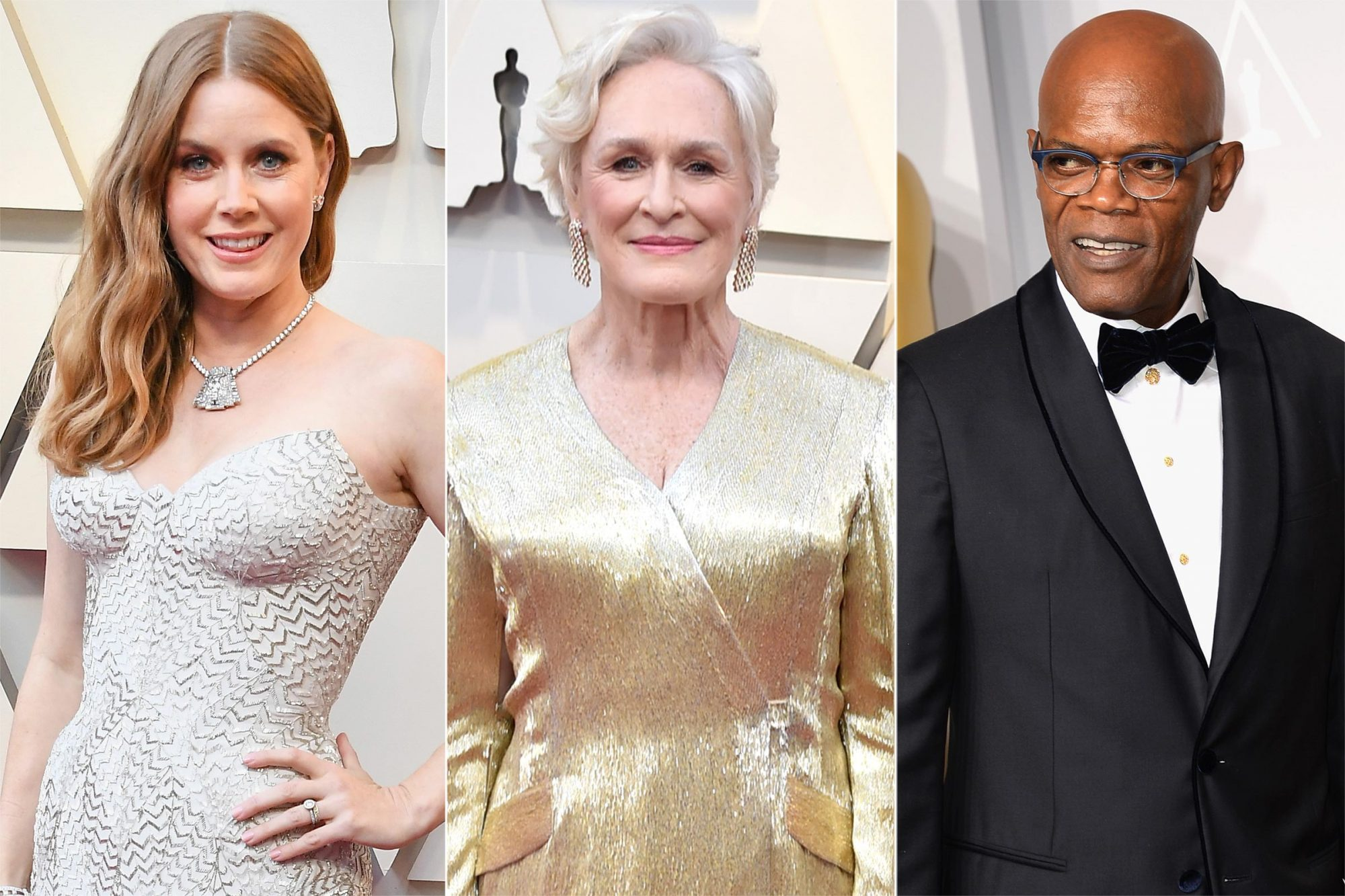 Amy Adams, Glenn Close, Samuel L. Jackson