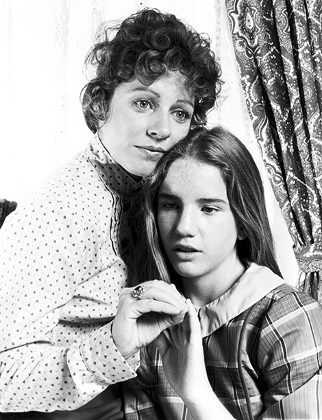 Patty Duke and Melissa Gilbert in The Miracle Worker on October 14, 1979
