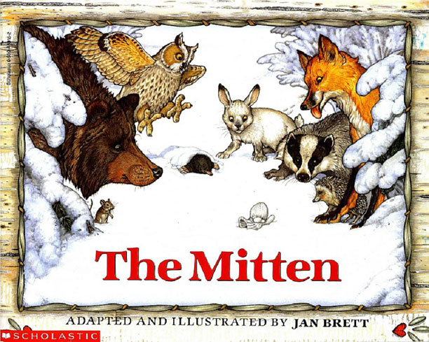 Author: Jan Brett Best for ages 4 to 6 Jan Brett's wintertime story, adapted from a Ukrainian folktale, about a lost white mitten that becomes…