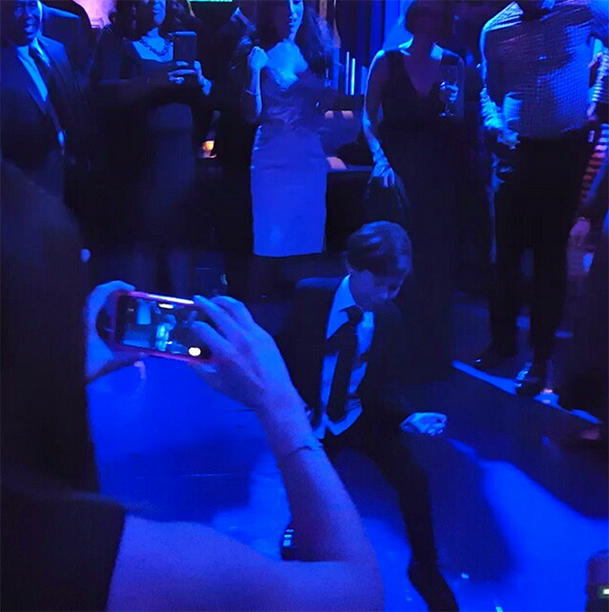 …Followed by his Charming Critics' Choice Dance Moves…