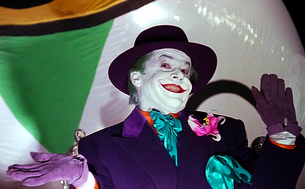 Nothing about Jack Nicholson's Joker is subtle, and the years since have retroactively made his clownish turn look like shtick. (Besides About Schmidt , Nicholson…