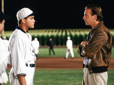 Ray Liotta, Kevin Costner, ... | SHOELESS JOE JACKSON PLAYED BY Ray Liotta MOVIE Field of Dreams (1989) POSITION Left field TEAM In life, the Chicago White Sox; afterward, the ghostly…