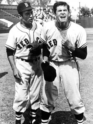 Anthony Perkins, Fear Strikes Out | JIMMY PIERSALL PLAYED BY Anthony Perkins MOVIE Fear Strikes Out (1957) POSITION Right field TEAM The Boston Red Sox STATS Piersall, a promising player whose…