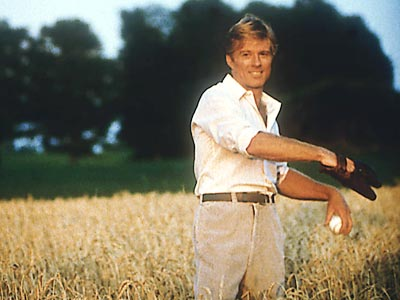 Robert Redford, The Natural | ROY HOBBS PLAYED BY Robert Redford MOVIE The Natural (1984) POSITION Right field TEAM The fictional New York Knights STATS Hobbs should have been a…