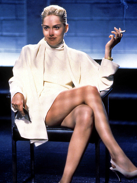 Sharon Stone, Basic Instinct | An erotic thriller about a bisexual (Sharon Stone) suspected of murdering her lover with an ice pick, this Paul Verhoeven film was pressured to tone…