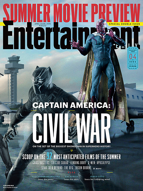 Part Four of EW's Four-Section Captain America: Civil War Cover Spread