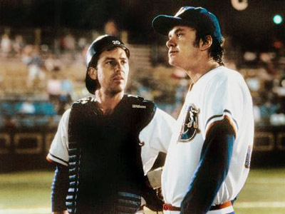 Tim Robbins, Kevin Costner, ... | CRASH DAVIS and EBBY ''NUKE'' LALOOSH PLAYED BY Kevin Costner and Tim Robbins MOVIE Bull Durham (1988) POSITIONS Catcher (Davis) and pitcher (LaLoosh) TEAM The…