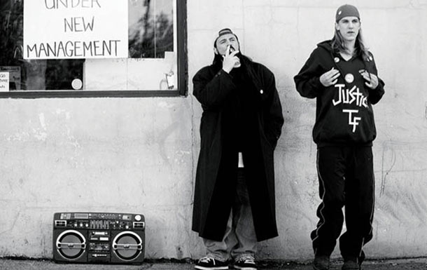 Clerks | Shameless reprobate Jay (Jason Mewes) and sage Silent Bob (Kevin Smith) eventually became immortalized in comic book form as Blunt Man and Chronic, but in…