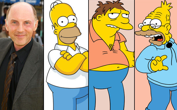Dan Castellaneta Voices Homer Simpson, Barney Gumble, and Grampa Simpson