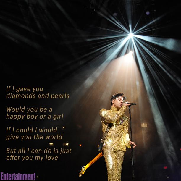 "Prince, ""Diamonds and Pearls"""