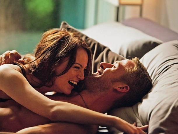 Emma Stone | THE SCENE FROM MY OWN MOVIES THAT MAKES ME LAUGH The whole scene with Ryan [Gosling] from Crazy, Stupid, Love where we get to know…