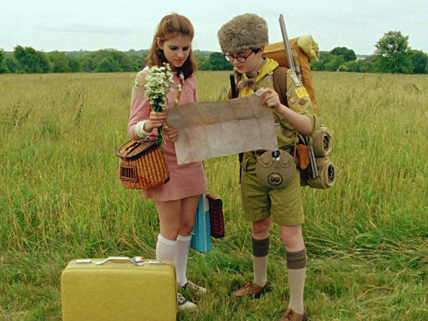 Emma Stone | THE LAST MOVIE THAT MADE ME CRY Probably the last movie I saw. [ Laughs ] I'm a huge crier. Moonrise Kingdom , the scene…