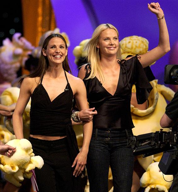 Jennifer Garner and Charlize Theron