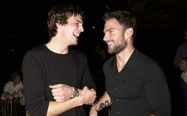Ashton Kutcher and Seann Williams Scott