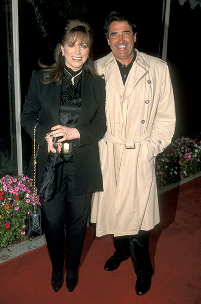 Jackie Collins and Frank Calcagnini