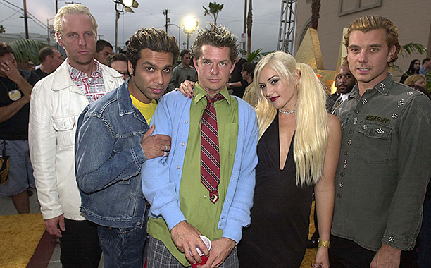 Tom Dumont, Tony Kanal, Adrian Young, Gwen Stefani, and Gavin Rossdale