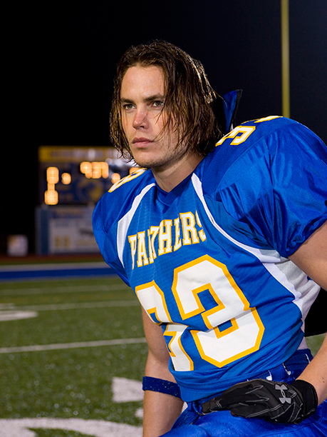 Taylor Kitsch as Tim Riggins on February 25, 2006